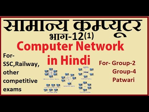 Computer network|Network topology  in hindi Part-12(1) for competitive Exam