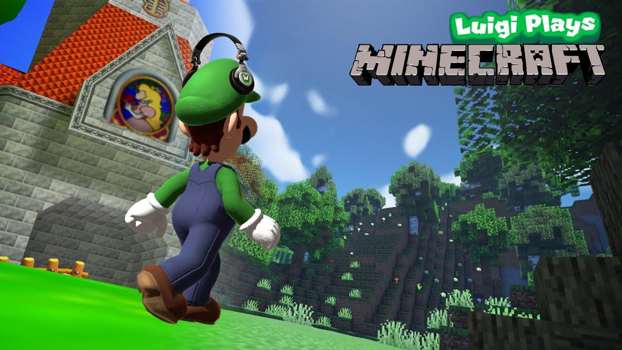 Luigi plays...Minecraft? - Weegeepie 1M Special