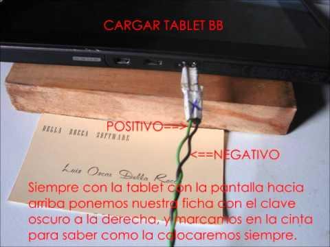 CARGAR Blackberry Playbook Cargador Casero NUEVO VIDEO