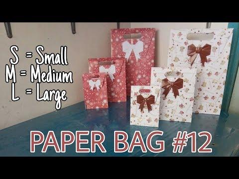 Paper Bag #12, Small, Medium, Large