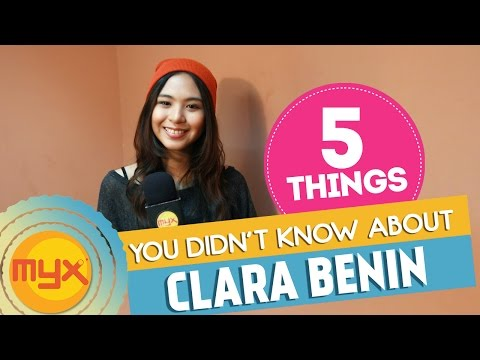 5 Things You Didn't Know About Clara Benin!
