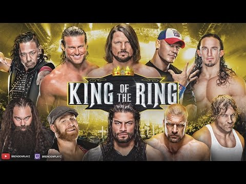 """""""King of the Ring PPV"""" WWE 2k17 Universe Mode: #75 (""""WWE 2k17"""" """"Universe Mode"""" PS4/Xbox One)"""