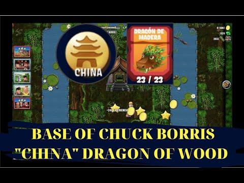 DIGGY'S ADVENTURE BASE OF CHUCK BORRIS (CHINA DRAGON OF WOOD)