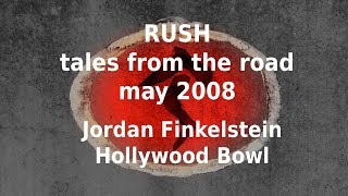 Rush - Tales From The Road - Hollywood Bowl - Jordan Finkelstein