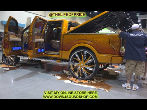 kandy mans tricked out f150 on 34s youtube