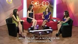 IRENE ESSER MISS VENEZUELA 2011 EN SABADO EN LA NOCHE