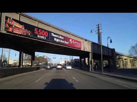Driving from East Rockaway to Lynbrook in Nassau,New York
