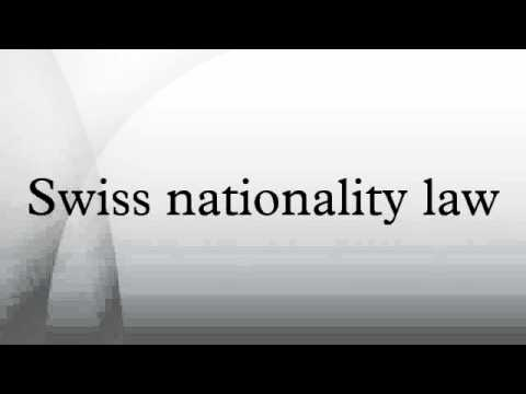 Swiss nationality law