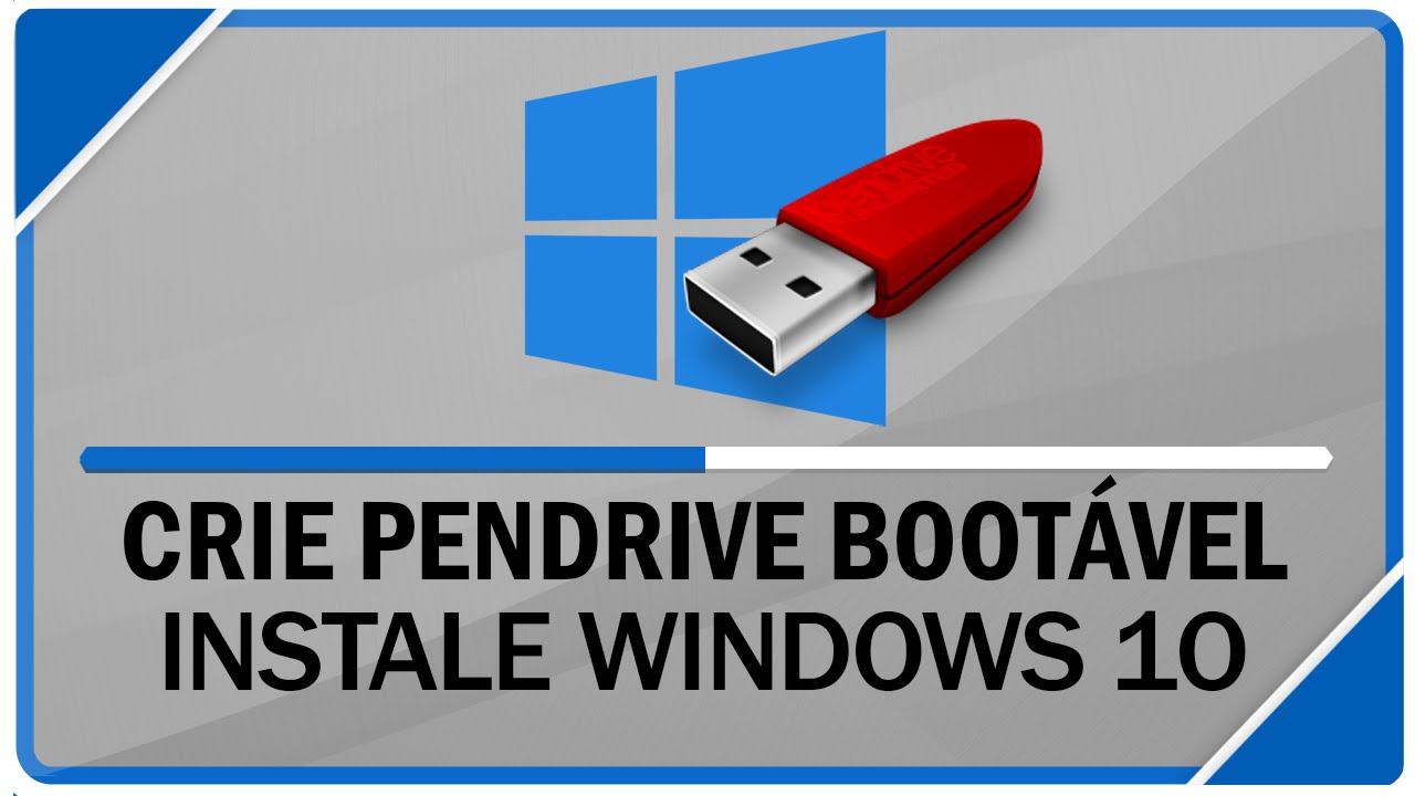 como criar pen drive bootavel windows xp