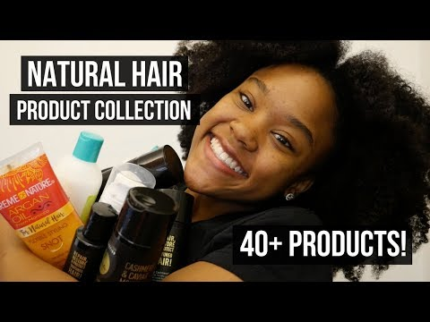 My Natural Hair Product Collection!! 40+ Products