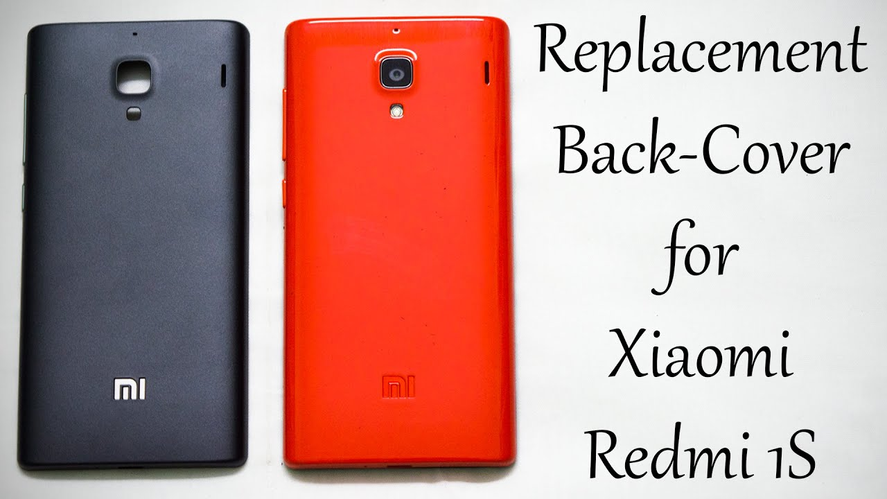 buy popular 54003 a2918 Replacement Back Cover for Xiaomi Redmi 1S [RED] - Unboxing &Review!