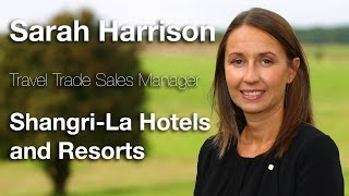 Connections leaders tv interview #4 sarah harrison, shangri-la hotels and resorts