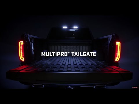 How to use the Six Function Multi-Pro Tailgate   Next Generation 2019 GMC Sierra Denali