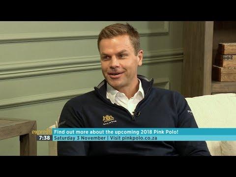Dashing Ryk Neethling On Pink Polo 2018!
