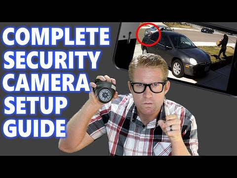 Home Security Camera System Surveillance Setup: How to Best DIY IP Installation Placement HD CCTV 16