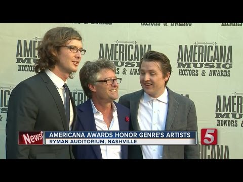 Artists, Musicians Honored At Americana Music Awards