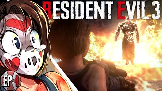 NEMESIS DESTROYS EVERYTHING! Resident Evil 3 - Ep.1