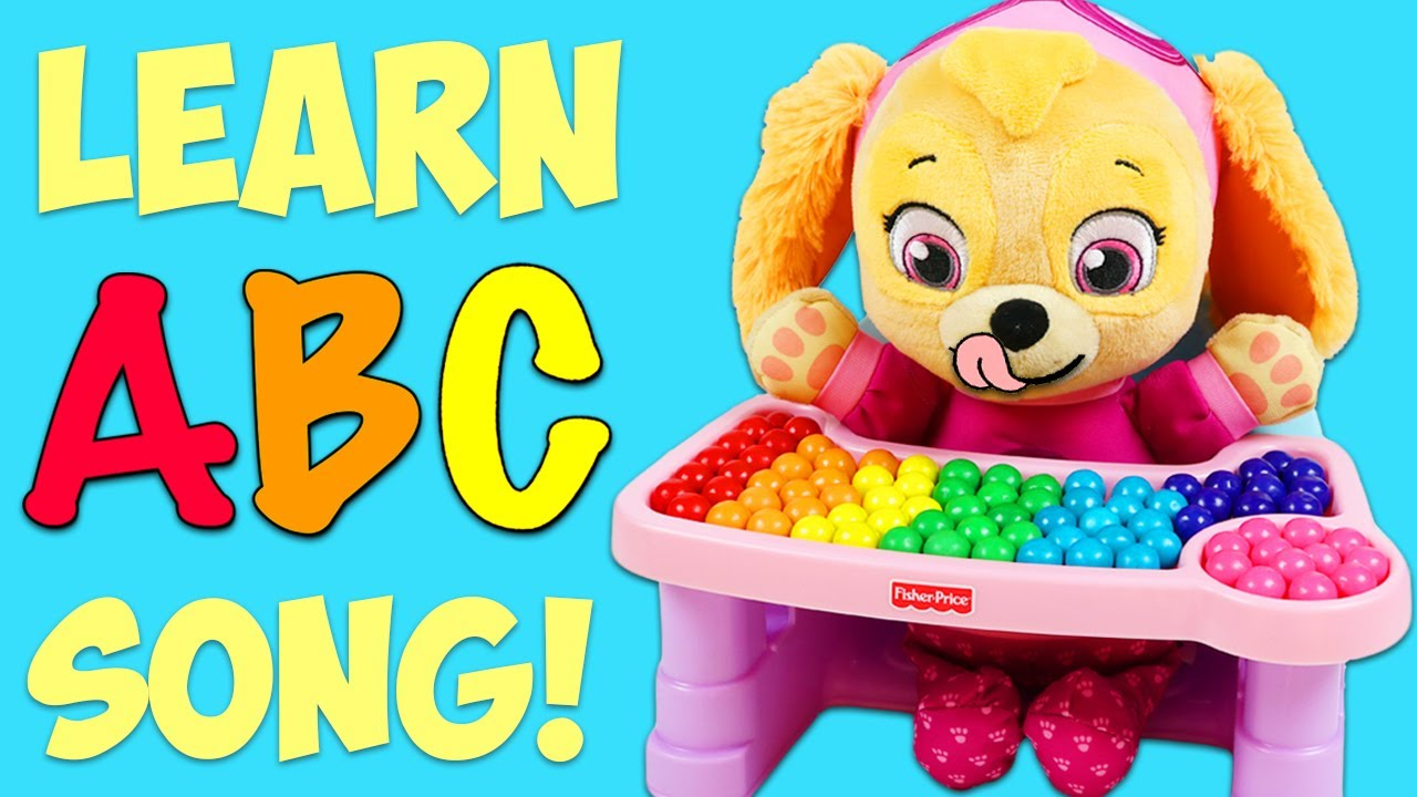 LEARN The ABC Song With Paw Patrol Baby Skye