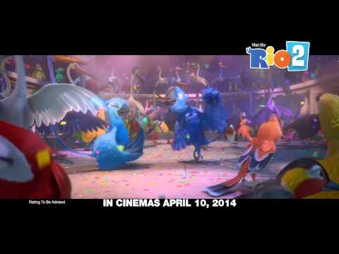 "Rio2 ""What Is Love"" New Year Scenes"