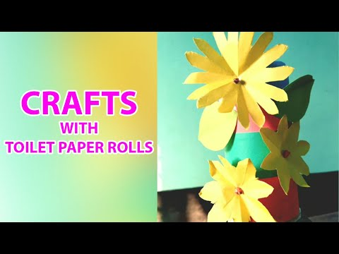 5 Minute Crafts: Crafts With Toilet Paper Rolls and Paper Towel Rolls