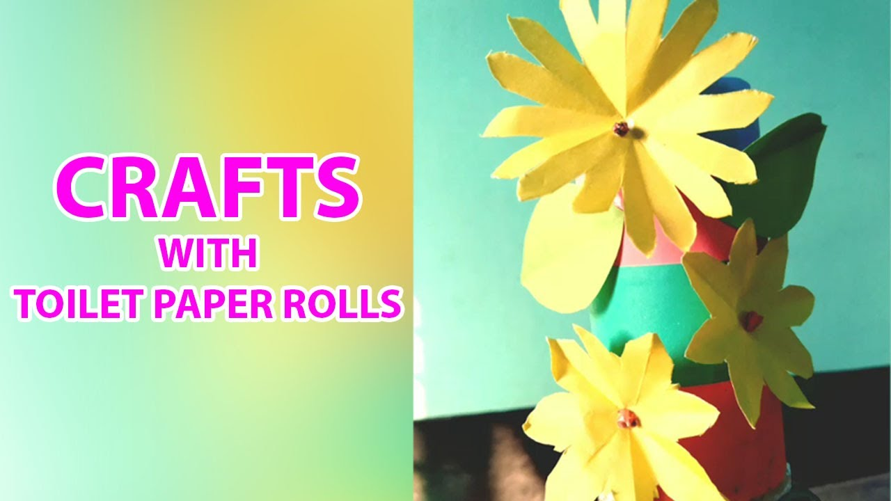 5 Minute Crafts: Crafts With Toilet Paper Rolls and Paper Towel ...