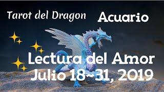 Acuario Tirada del Amor Julio 18-31, 2019 ♒️ 💗💕❤️