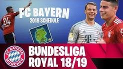 FC Bayern Bundesliga Schedule 2018/19 - Fortnite Style