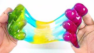 Слайм челлендж делаем слаймы с разными добавками Слайм на 8 марта