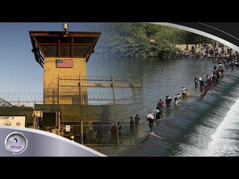Jim Crow Joe Plans To Send Haitian Refuges To Guantanamo Bay