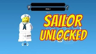 LEGO City Undercover Remastered Sailor Unlock Location and Free Roam Gameplay