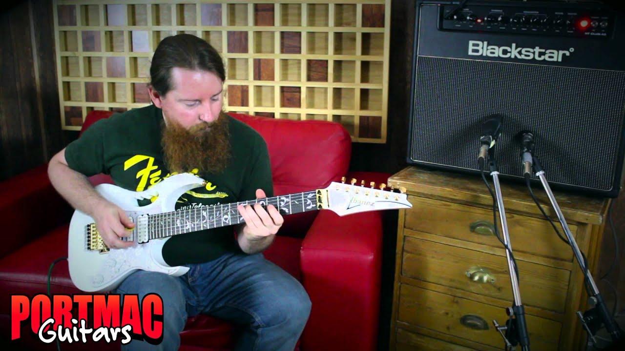 mac guitars ibanez jem7v7 demo