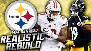 Rebuilding the Pittsburgh Steelers | Jonathan Taylor! Madden 20 Franchise