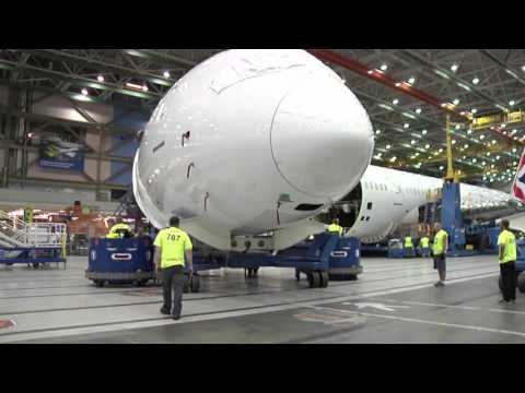 British Airways - Building the 787-9 Dreamliner