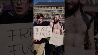 Meet this pervert who is asking for FREE SEX , see what happens
