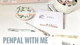 💌  kpop penpal with me // minimal pastel theme 🍡