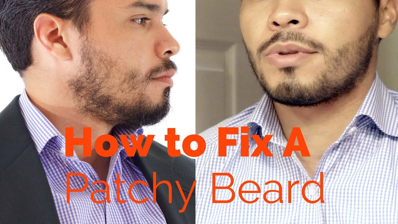 Beard patches fixing a hole