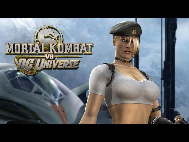 Mk Vs Dc Universe: Zerando Com Sonya Blade No Arcade - (gameplay No Xbox 360)