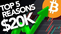 Top 5 Reasons Why Bitcoin Will Hit 20k Again Very SOON