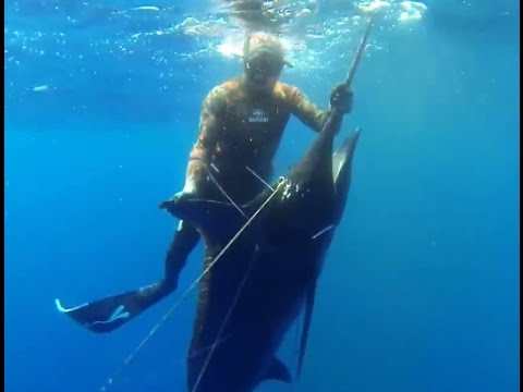 Speafishing Cabo Verde - Blue water Hunting to Marlin and Sailfish with Pierre Jean