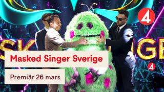 Masked Singer Sverige | Trailer | 26 mars