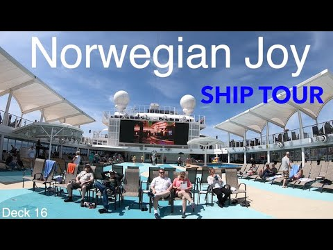 Norwegian Joy -  Full Walkthrough Cruise Ship Tour - Norwegian Cruise Lines