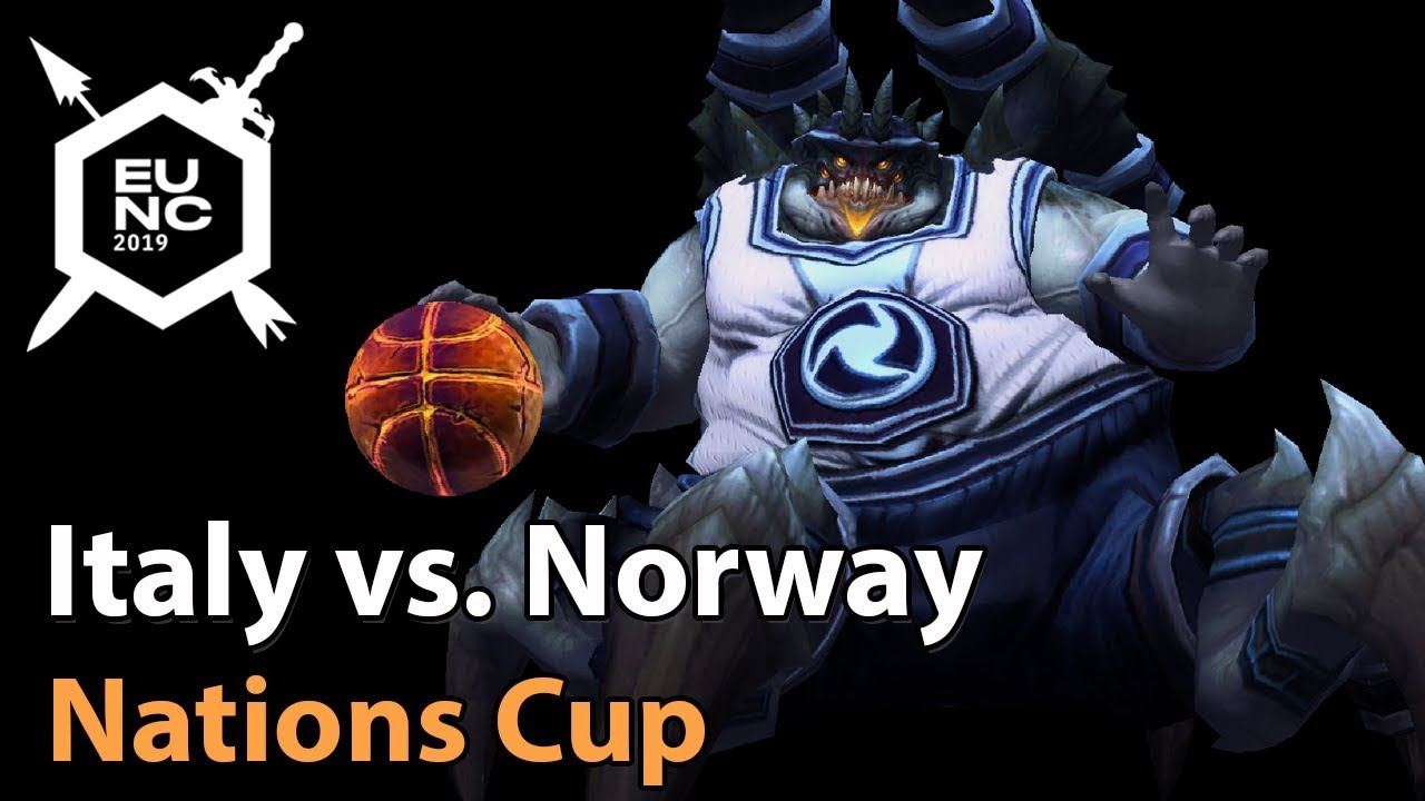► Italy vs. Norway - Nations Cup - Heroes of the Storm Esports