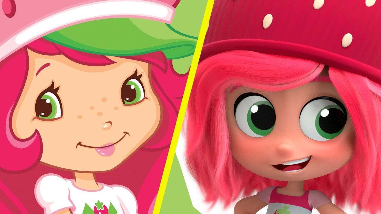 New Strawberry Shortcake Characters 2019 Design Vs Old Ones Youtube