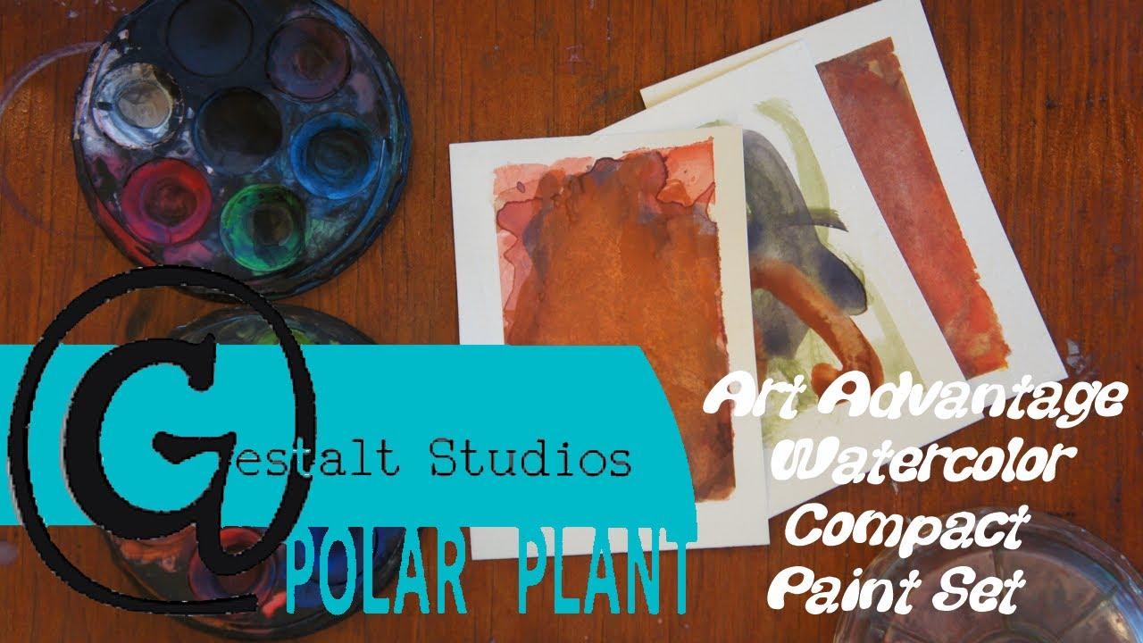 Art Advantage Watercolor Paint Set