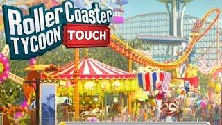 НОВЫЕ ИГРЫ 2017 RollerCoaster Tycoon Touch -  FIRST PLAY (ПЕРВЫЙ ВЗГЛЯД/ОБЗОР) (iOS Gameplay)