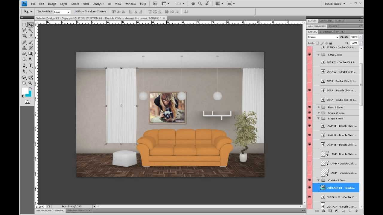Make Realistic Interiors with Photoshop  YouTube
