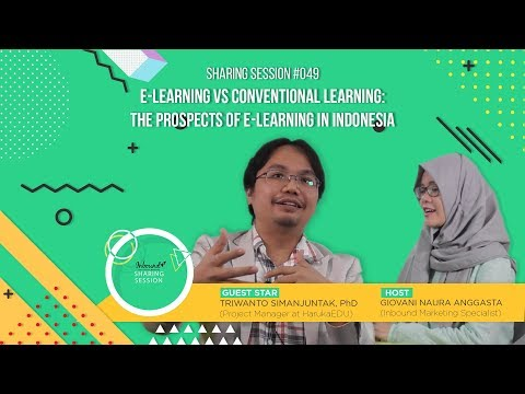 The Prospects of E-learning in Indonesia | Sharing Session #49 x HarukaEDU