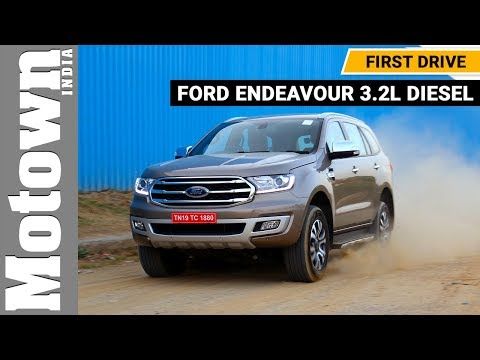 Ford Endeavour 3.2L Diesel | Review | Motown India