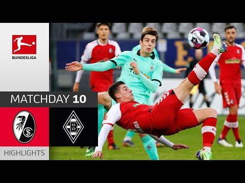 SC Freiburg - Borussia M'gladbach | 2-2 | Highlights | Matchday 10 – Bundesliga 2020/21