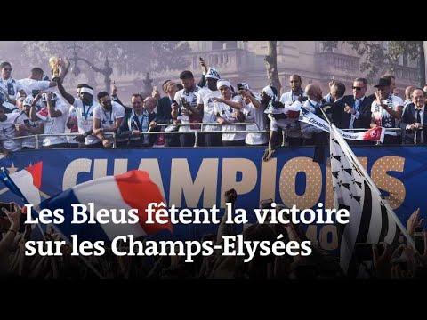 Coupe du monde 2018 : les Bleus sur les Champs-Elysées
